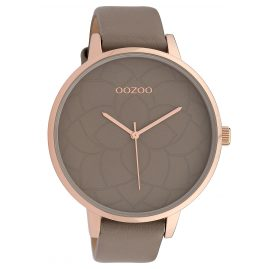 Oozoo C10104 Damenuhr Taupe 48 mm