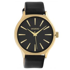 Oozoo C10109 Ladies´ Watch Gold-Tone/Black 42 mm