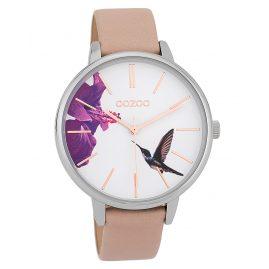 Oozoo C9760 Damenuhr Kolibri Hellrosa/Weiß 42 mm