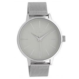 Oozoo C10005 Damenuhr Grau/Silber 42 mm
