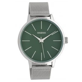 Oozoo C10006 Ladies' Wristwatch Green/Silver 42 mm