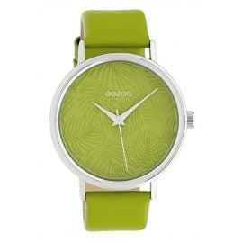 Oozoo C10168 Ladies' Watch with Leather Strap Green