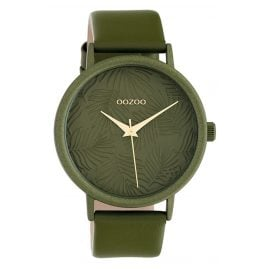 Oozoo C10173 Ladies' Watch with Leather Strap Green