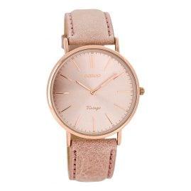 Oozoo C7372 Vintage Damen-Armbanduhr Altrosa 36 mm