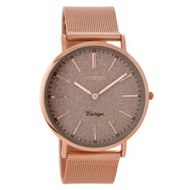 Oozoo C8802 Ladies Watch XL Vintage Rose 40 mm