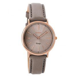 Oozoo C8822 Damen-Armbanduhr Vintage Taupe 32 mm