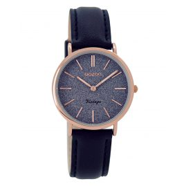 Oozoo C8834 Ladies Watch Vintage Darkblue 32 mm