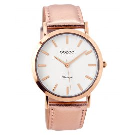 Oozoo C7791 Damen-Quarzuhr Vintage Roségoldfarben 38 mm