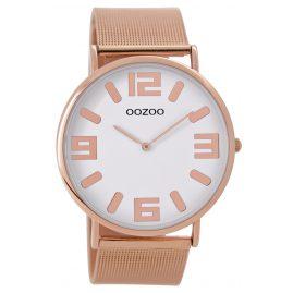 Oozoo C8882 Armbanduhr Rosé/Weiß 42 mm