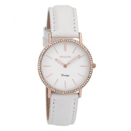 Oozoo C9320 Ladies' Wristwatch Vintage Rose/White 32 mm