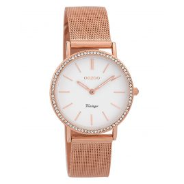 Oozoo C9328 Ladies' Watch Vintage Rose/White 32 mm