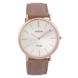 Oozoo C9332 Damen-Uhr Vintage Rosé/Altrosa/Silberfarben 40 mm