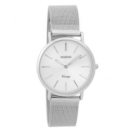 Oozoo C9342 Ladies' Watch Vintage Silver-Coloured 32 mm
