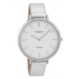 Oozoo C9380 Damenuhr Vintage Silberfarben 40 mm