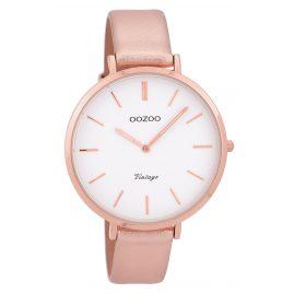 Oozoo C9381 Damenuhr Vintage Rosé/Weiß 40 mm