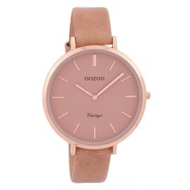 Oozoo C9382 Ladies Watch Vintage Blush Pink 40 mm