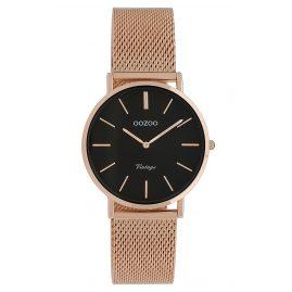 Oozoo C9927 Ladies' Watch Vintage Rose Gold-Tone/Black 32 mm