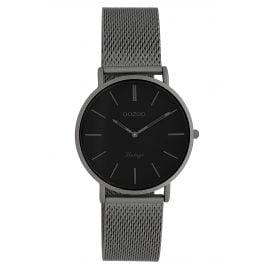 Oozoo C9931 Ladies' Watch Vintage Titanium-Tone/Black 32 mm