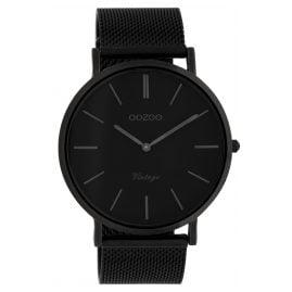 Oozoo C9932 Watch Vintage Black 44 mm