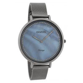 Oozoo C9859 Ladies' Watch Vintage Titanium-Tone/Mother-of-Pearl 40 mm