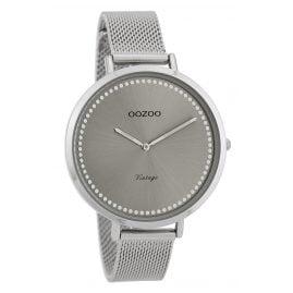 Oozoo C9855 Ladies' Watch Vintage Silver/Grey 40 mm