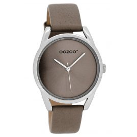 Oozoo JR292 Damenuhr mit Lederband Taupe 36 mm