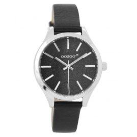 Oozoo JR299 Armbanduhr für Mädchen und Damen Schwarz 35 mm