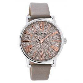 Oozoo JR303 Ladies' Watch Leather Strap Taupe 38 mm