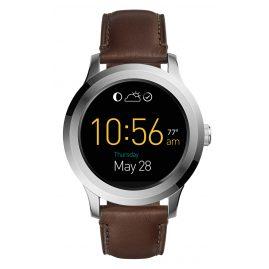 Fossil FTW2119 Smartwatch Q Founder 2.0 Touchscreen Leder Braun