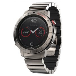 Garmin 010-01957-01 fenix Chronos Titanium Smartwatch