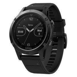 Garmin 010-01688-11 fenix 5 Saphir GPS Multisport Smartwatch Schwarz