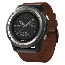 Garmin 010-01733-31 Pilots Watch D2 Charlie GPS Leather