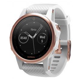 Garmin 010-01685-17 fenix 5S Saphir GPS Multisport Smartwatch Rosé/Weiß