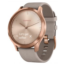 Garmin 010-01850-09 vivomove® HR Premium Ladies Smartwatch Rose Gold/Grey
