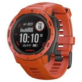 Garmin 010-02064-02 Outdoor Smartwatch Instinct Light Red/Slate Grey