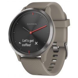 Garmin 010-01850-03 Smartwatch vivomove HR Sport Black / Sandstone