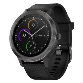 Garmin 010-01769-10 vivoactive 3 GPS-Multisport-Smartwatch Schwarz/Schiefer