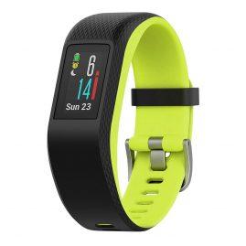 Garmin 010-01789-03 vivosport GPS-Fitness-Tracker L Schwarz/Limelight