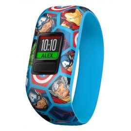 Garmin 010-01909-02 vivofit jr. 2 Marvel Avengers Fitness-Tracker für Kinder