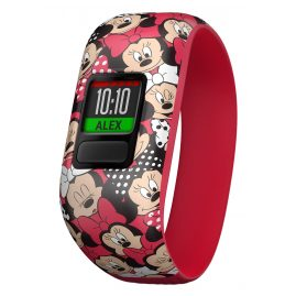 Garmin 010-01909-00 vivofit jr. 2 Minnie Mouse Activity Tracker for Kids