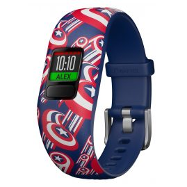 Garmin 010-01909-12 vivofit jr. 2 Marvel Avengers Fitness-Tracker für Kinder