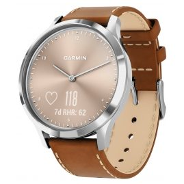 Garmin 010-01850-AA vivomove HR Premium Fitness Tracker Smartwatch
