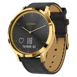 Garmin 010-01850-AC vivomove HR Premium Fitness Tracker Smartwatch Black