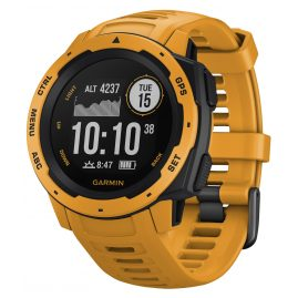 Garmin 010-02064-03 Instinct Outdoor Smartwatch Yellow/Slate Grey