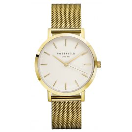 Rosefield MWG-M41 The Mercer White/Gold Armbanduhr