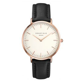 Rosefield BWBLR-B1 The Bowery White/Black Armbanduhr