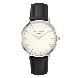 Rosefield BWBLS-B2 The Bowery White/Black Armbanduhr