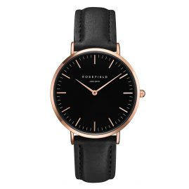 Rosefield BBBR-B11 The Bowery Black/Rose Gold Armbanduhr
