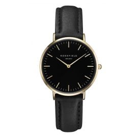 Rosefield TBBG-T56 The Tribeca Black/Black/Gold Damenuhr