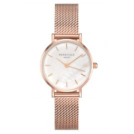 Rosefield 26WR-265 Ladies Watch Small Edit White/Rose
